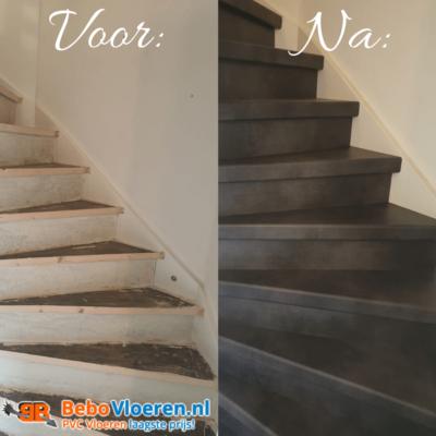 DIY: trap renoveren met PVC traprenovatie!