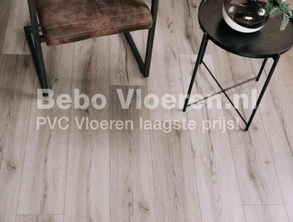 Veelzijdige PVC-vloer verlijmbaar met GRATIS PLINT