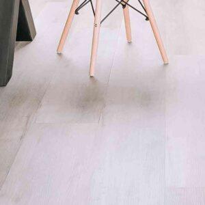 Lichtgrijze PVC-vloer verlijmbaar