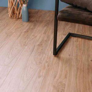 Landelijke houtlook PVC-vloer verlijmbaar