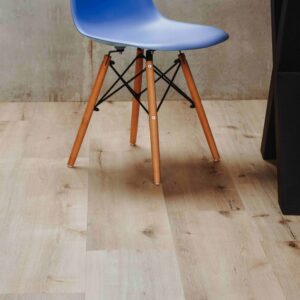 Beige houtlook PVC-vloer met kliksysteem