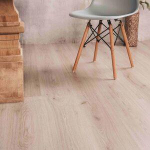 Lichte houtlook noestarm PVC-vloer klik