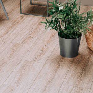 Licht eiken naturel PVC-vloer verlijmbaar