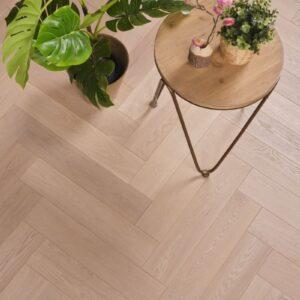 Eiken houten vloer tapis Geborstelde Look