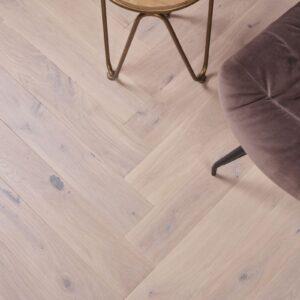 Eiken houten vloer tapis Gerookt Krijtwit