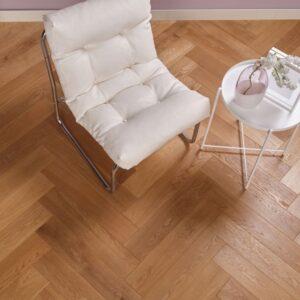 Eiken houten vloer tapis Puur Beige