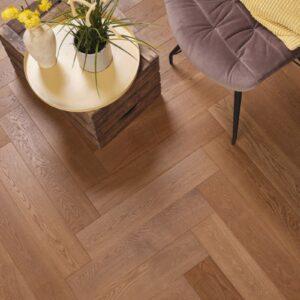 Eiken houten vloer tapis Zuiver Geolied